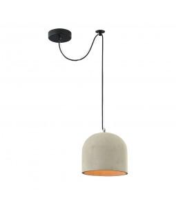 Griestu lampa Maytoni Loft pelēks betona kupols