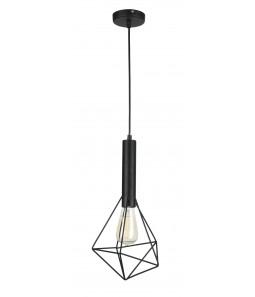 Griestu lampa Maytoni Loft melnā krāsā