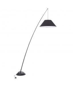 Stāvlampa Maytoni Table & Floor melnā krāsā
