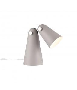 Galda lampa Maytoni Modern pelēkā krāsā