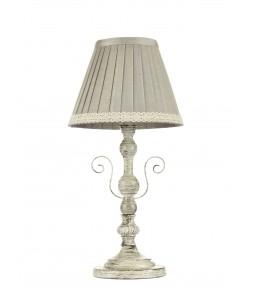 Galda lampa Maytoni Elegant pelēkā krāsā ar novecojuma efektu