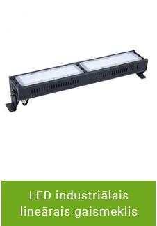 LED industriālais lineārais gaismeklis