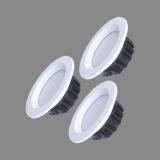 LED lampas ar pults vadību iebūvējamās 3000K-6500K Bern