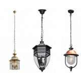 Outdoor suspended ceiling lights