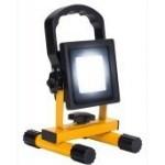 LED uzlādējami prožektori