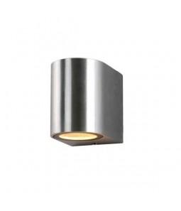 Sienas gaismeklis alumīnijs slīpēts korpuss IP54 GU10