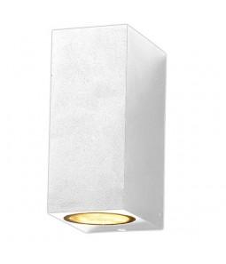 Sienas gaismeklis alumīnijs balts IP54 2xGU10
