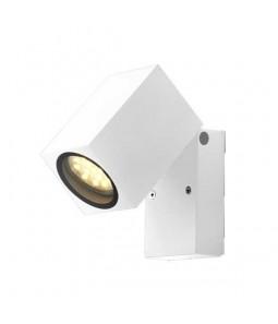 Sienas gaismeklis alumīnijs balts IP44 GU10