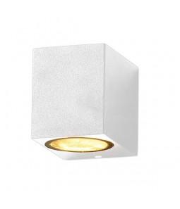 Sienas gaismeklis alumīnijs balts IP54 GU10