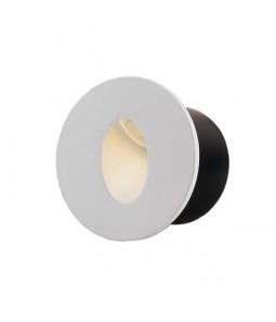 LED kāpņu gaismeklis aplis balts 3W 3000K 120lm IP20