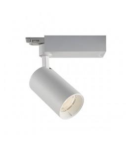 LED sliežu prožektors 25W 24° balts 5000K 3 fāzu