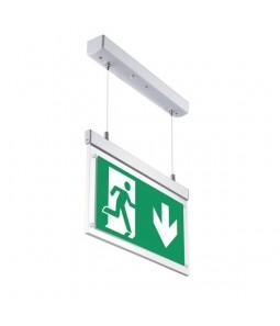 Avārijas EXIT LED lampa piekaramā 3h