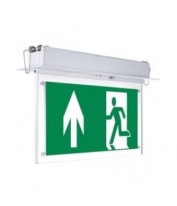 LED iebūvējama avārijas EXIT lampa 3h