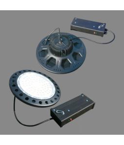 100W LED industriālais gaismeklis High Bay UFO Avārijas