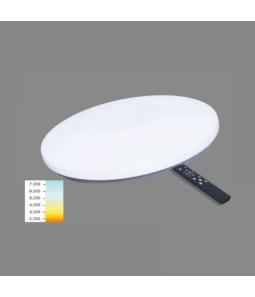 36W LED griestu lampa apaļš ar pulti SOPOT
