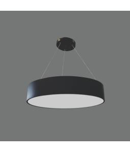 70W LED lampa melnā krāsā MORA 0-10V Dimmējama