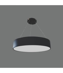 60W LED lampa melnā krāsā MORA