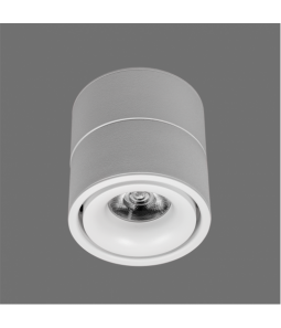 15W LED virsapmetuma lampa baltā krāsā 4000K OSLO