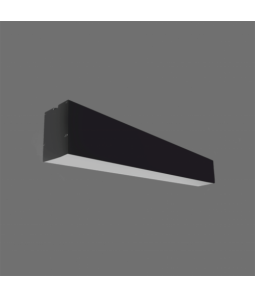 40W LED lineārs iekarināms melns 4000K LIMAN