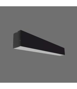 20W LED lineārs iekarināms melns LIMAN CCT Avārijas