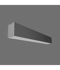 20W LED lineārs iekarināms pelēks LIMAN Avārijas
