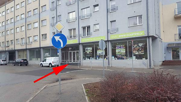 Atrašanas vieta Satiksmese iela 3, Rīga